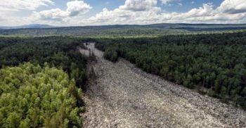 Opera de artă a ghețarilor: Marele râu de bolovani din Munții Ural