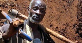 Sătul să aștepte după autorități, a construit singur un drum în șase zile