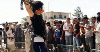 Un condamnat la moarte din Arabia Saudită a fost crucificat