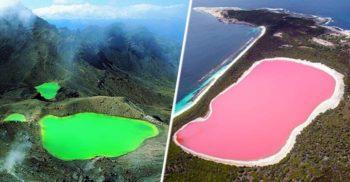 15 bijuterii naturale: Cele mai frumoase lacuri din lume