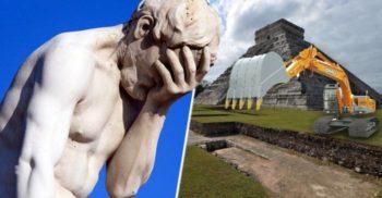 5 comori istorice inestimabile distruse din cauza prostiei umane