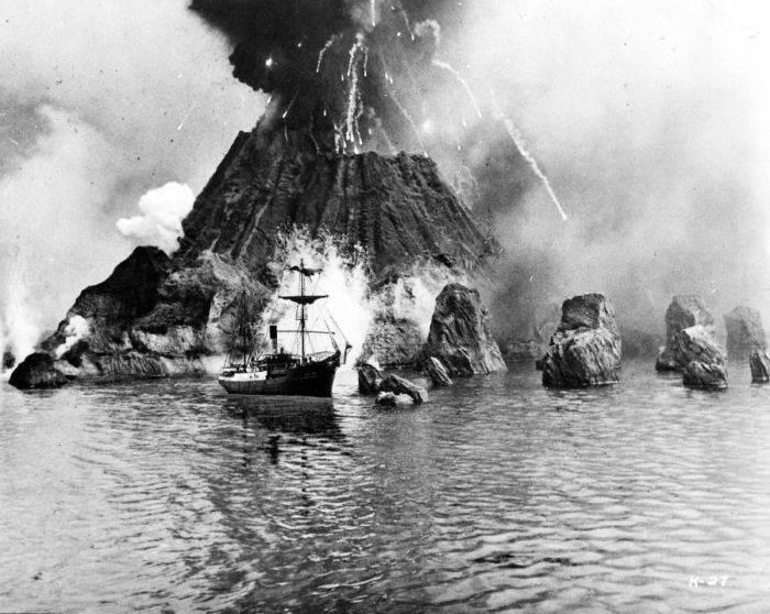 Eruptia vulcanului Krakatau