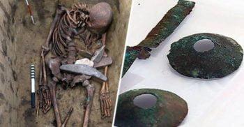 """Oamenii-pasăre cu """"ochelari"""" de bronz: Cele mai ciudate morminte de șamani descoperite vreodată"""