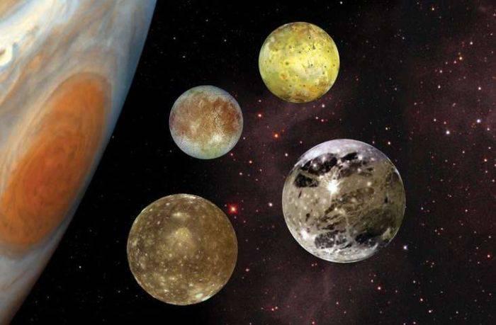 Satelitii lui Jupiter
