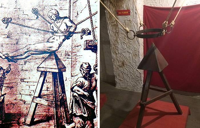 Instrumente de tortura - Leaganul lui Iuda
