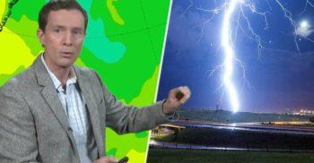 Un algoritm creat în Germania prezice fulgerele și trăsnetele cu o acuratețe de 96%