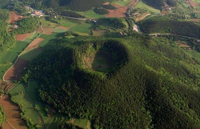 Crater vulcan