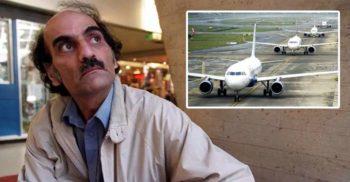 Mehran Nasseri, bărbatul blocat într-un aeroport timp de 18 ani