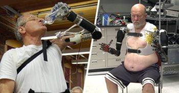 Nu e SF! Brațul robotic LUKE le permite invalizilor să simtă obiectele pe care le ating