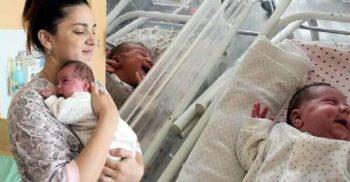 O femeie cu uter dublu a născut gemeni la 11 săptămâni distanță