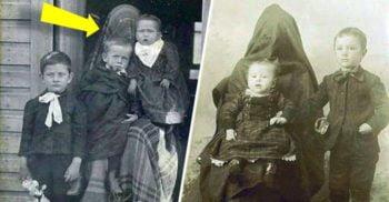 O tehnică sinistră: Mamele ascunse din primele fotografii cu copii