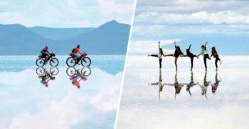 Salar de Uyuni, un loc magic: Cea mai mare oglindă naturală de pe Pământ