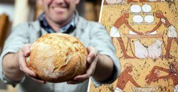 Un pasionat de istorie a copt pâine folosind drojdie de 1.500 de ani