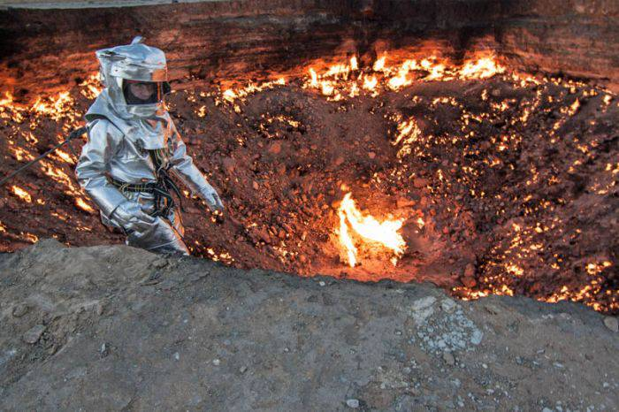 Craterul Darvaza, poarta spre iad