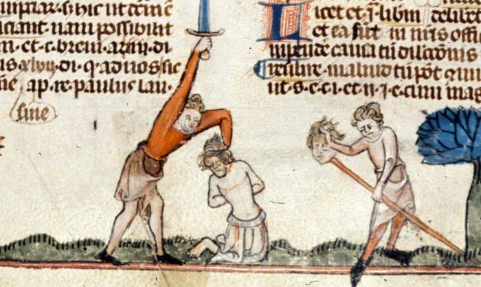 metode de execuție brutale folosite în Evul mediu