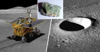 """""""Gelatina cleioasă"""" de pe Lună, substanța misterioasă descoperită de robotul spațial al Chinei"""