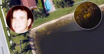 A descoperit cu Google Earth mașina (și scheletul) unui om dispărut de 22 de ani