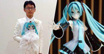 Akihiko Kondo, bărbatul care s-a însurat cu o hologramă