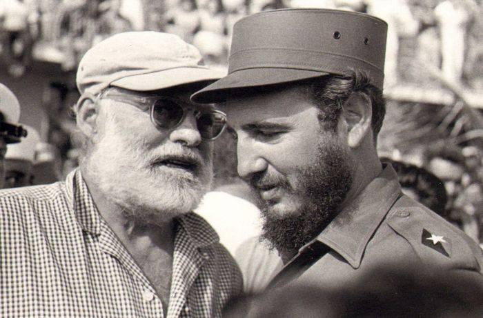 Castro si Hemingway