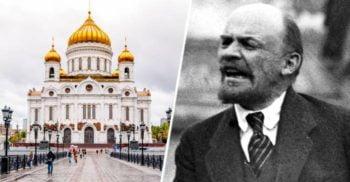 """Catedrala din Moscova care a """"răsărit"""" în cea mai mare piscină din URSS"""