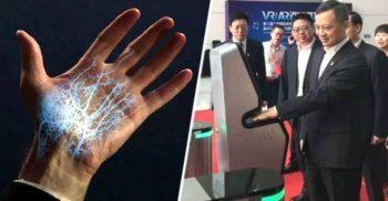 Chinezii au dezvoltat un nou sistem de identificare: Scanarea vaselor de sânge din palmă