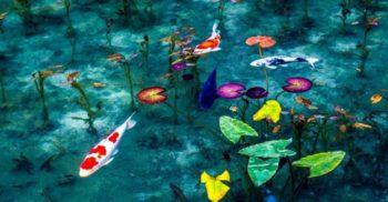 Iazul lui Monet: Lacul din Japonia care arată ca un tablou viu