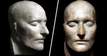 Masca mortuară a lui Napoleon: Secretele mulajului de ghips