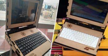 O companie din Peru a lansat laptopul de lemn, proiectat să reziste 15 ani