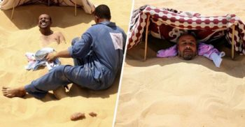 Tratamentul extrem al berberilor: Băile de 5 zile în nisipul fierbinte din deșert