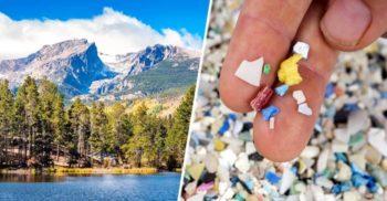 Un studiu geologic a descoperit că în Munții Stâncoși plouă cu plastic