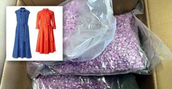 A comandat haine online, însă poșta i-a livrat 24.800 de pastile de Ecstasy