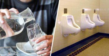 Acest restaurant le servește clienților apă potabilă reciclată provenită de la toaletă