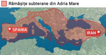 Adria Mare, continentul dispărut. Pământul peste care a crescut Europa