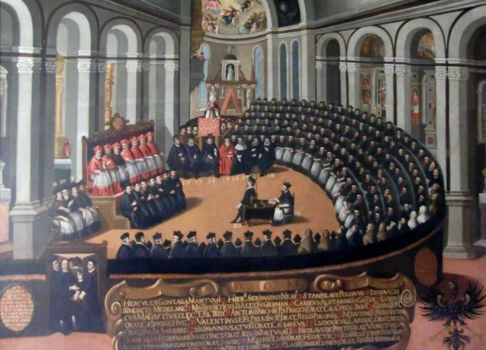 Calendarul gregorian - Conciliul de la Trento