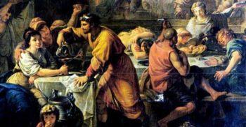 Cel mai tare chef din Pompei: Majoratul cu 6.800 de invitați și 200 de gladiatori