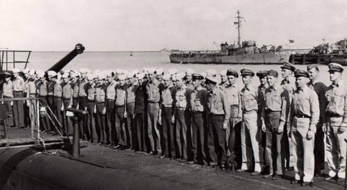 Echipajul USS Tang