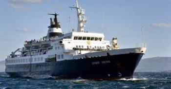Lyubov Orlova, nava de pasageri abandonată ce plutește în derivă prin Atlantic
