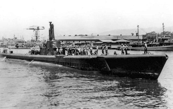 Marinari USS Tang