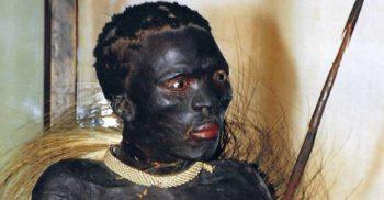Negrul din Banyoles, omul împăiat și expus la muzeu ca un animal