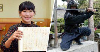 Studenta care a primit nota maximă pe un eseu despre ninja scris cu cerneală invizibilă