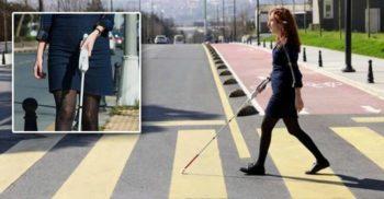 Un inventator orb a creat un baston inteligent care folosește Google Maps pentru a-i ajuta pe cei cu deficiențe de vedere