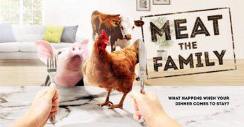 O emisiune îi provoacă pe participanți să devină vegetarieni sau să-și mănânce animalul de companie