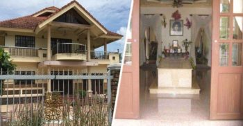 Vila cu Mormânt: Proprietara este îngropată în sufragerie