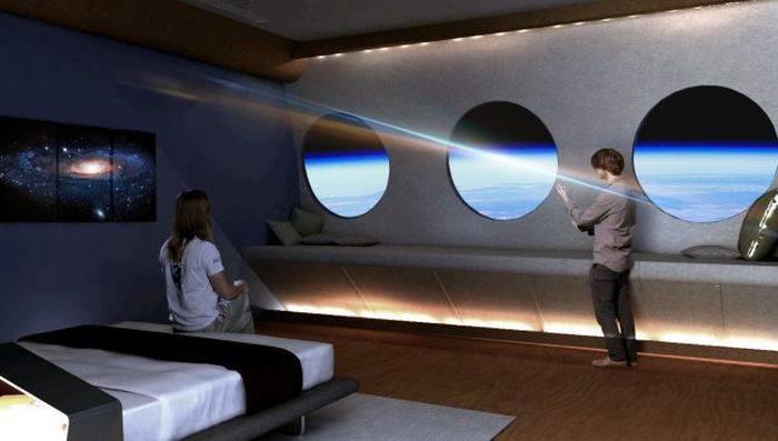 primul hotel spațial