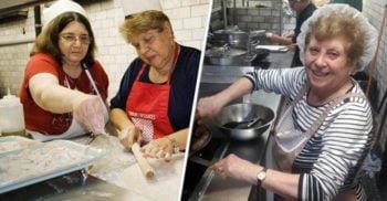 În loc să apeleze la bucătari profesioniști, acest restaurant angajează bunici din lumea întreagă