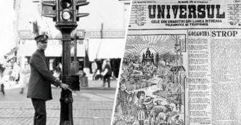 Primul semafor din România. Istoria luminilor ce dirijează traficul