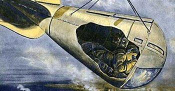 Coșul spionului: Cea mai riscantă poziție dintr-un dirijabil de război