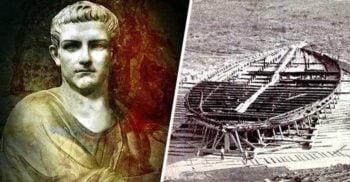 Depravatul împărat Caligula și bărcile plăcerii pe Lacul Nemi