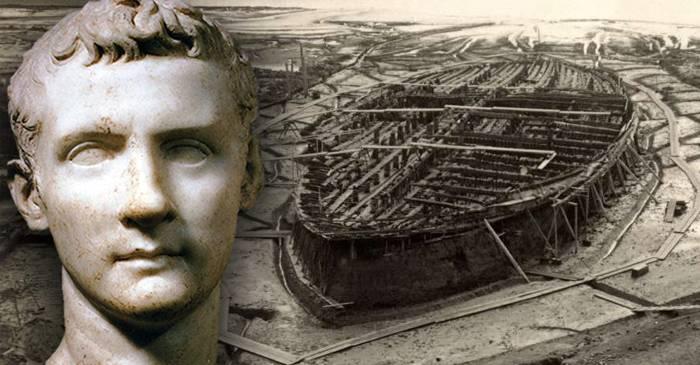 Depravatul împărat Caligula și bărcile plăcerii pe Lacul Nemi featured_compressed