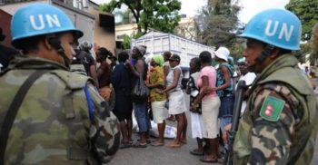"""Forțele ONU de menținere a păcii """"au conceput sute de copii în misiunea din Haiti"""""""